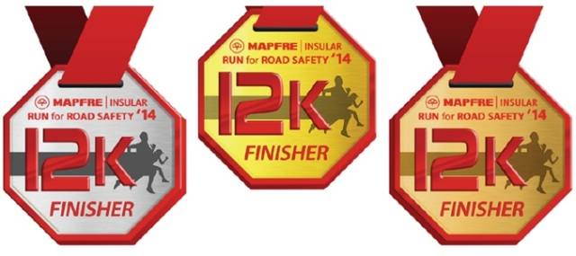 2014 Run for Road Safety Medals