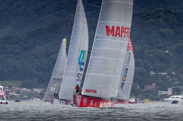 MAPFRE EN LA VOLVO OCEAN RACE./ MAPFRE IN THE VOLVO OCEAN RACE.